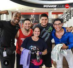 #Repost @abdielabdull @powerclubpanama Reunion de artistas fitness #YoEntrenoEnPowerClub Y Tú? Cuantas Calorías Quemaste Hoy ?