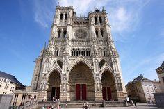 Gótico Francés, Catedral de Amiens#arte#gotico