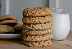 Jumbo Whole Wheat Peanut Butter Cookies