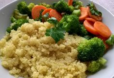 Quinoa brokkolis zöldséggel