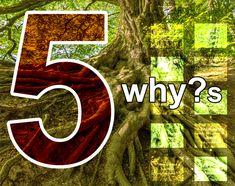 How to uncover the root cause with the 5 why?s technique.