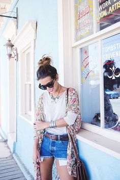 TOMBSTONE-Arizona-Trip-Road-Collage_Vintage-Levis-Floral_Kimono-Outfit-Street_Style-44 by collagevintageblog, via Flickr
