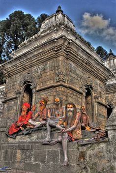 The wise group. Nepal