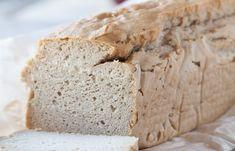 Against All Grain -gluten-free and grain-free Blender Bread Recipe - paleo friendly Against All Grain, Gluten Free Baking, Gluten Free Recipes, Celiac Recipes, Scd Recipes, Healthy Baking, Organic Recipes, Stuffing Recipes For Thanksgiving, Grain Free Bread