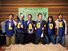 The League, FX (TV Such a hilarious show about a group of friends who run a fantasy football league together! Lots of laughter and football chatter. cant go wrong. Best Tv Shows, Best Shows Ever, Favorite Tv Shows, Favorite Things, Shows On Netflix, Movies And Tv Shows, Fantasy Football League, Fantasy Baseball, Baseball League