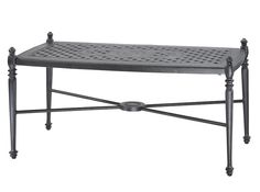 """Grand Terrace 24"""" x 48"""" Coffee Table by Gensun Casual Furniture - Home Gallery Stores"""