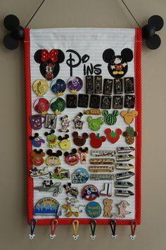 Pin Display With Mickey & Minnie - Trading Pin Display - Pin Holder Disney Souvenirs, Disney Vacations, Disney Trips, Disney Cruise, Disney Honeymoon, Disney Diy, Disney Crafts, Disney Magic, Disney Ideas