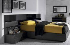 DRG_N_01 #hogar #casa #dormitorio #habitación #Galicia #muebles #style Beautiful Bedrooms, Black N Yellow, Furniture, Home Decor, World, Black Bedrooms, Black Rooms, Small Bedrooms, House Decorations