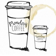 New quotes funny monday coffee ideas Coffee Is Life, I Love Coffee, My Coffee, Morning Coffee, Coffee Girl, Coffee Corner, New Quotes, Funny Quotes, Monday Humor