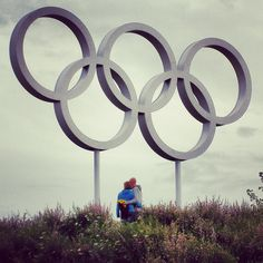 Enjoying The Games so far?  Photo from The Olympic Park, London2012.    Credits, Cathrine Koppel