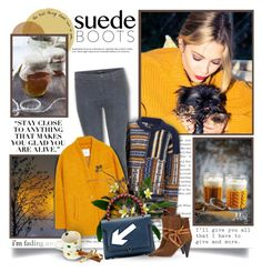 """Style Staple: Suede Boots"" by thewondersoffashion ❤ liked on Polyvore featuring мода, Andrea, Joseph, J Brand, MANGO, Anya Hindmarch и Isabel Marant"