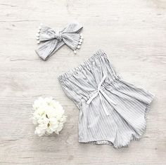 Baby striped romper, Girl Summer Romper, Baby Girl, Girls Outfit, Cake Smash Out. Baby Outfits, Girls Summer Outfits, Summer Girls, Kids Outfits, Baby Dresses, Dresses For Babies, Girls Dresses, Pink Dresses, Summer Baby