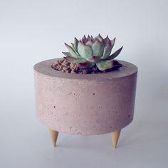 maceta / planter - cemento / concrete https://www.facebook.com/unaterraza