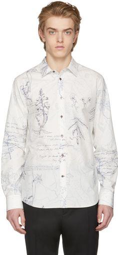 Alexander McQueen - White Explorer Shirt
