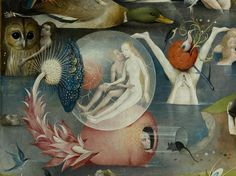 Details from Bosch's Garden of Earthly Delights (ca. 1500) | The Public Domain Review Hieronymus Bosch, Arte Tribal, Garden Of Earthly Delights, Illustration Art, Illustrations, Fine Art, Oeuvre D'art, Art History, Les Oeuvres