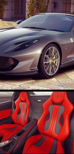 Ferrari 812 Gts Black Ferrari Sport Cars Convertible