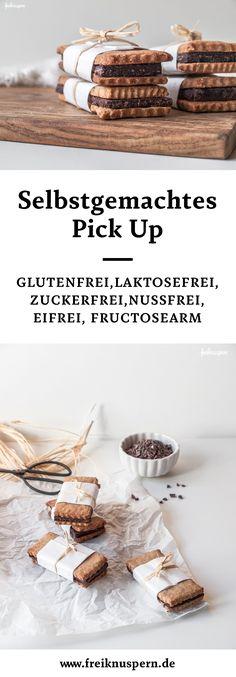 Homemade glutenfree vegan pick-up! Selbstgemachtes Pick-Up, glutenfrei, vegan, laktosefrei, nussfrei, eifrei, sojafrei, caseinfrei, fructosearm | freiknuspern - Rezepte für Allergiker