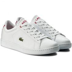 Sneakers LACOSTE - Carnaby Evo Bl 1 Spj 7-33SPJ1003B53 Wht/Pnk