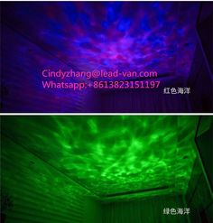 Romantic Hypnosis Music Ocean Wave Projector Night Light With Remote Control