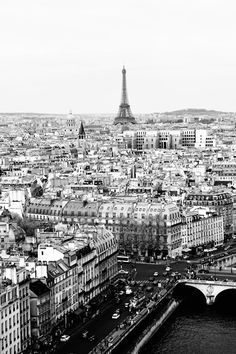 Paris in black & white...