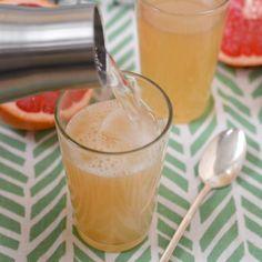 Recipe: Grapefruit Honey Ginger Soda Recipes from The Kitchn | The Kitchn