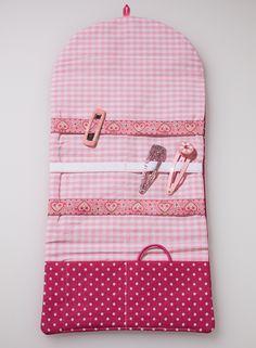 Süße Spangentasche für kleine Damen in pink und...