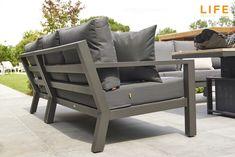 Loungeset met hocker en stoel van kees smit tuinmeubelen garden