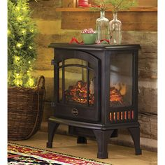 5 Lucky Tips: Faux Fireplace Electric stucco fireplace outdoor.Painted Fireplace fireplace and tv ideas.Fireplace Insert With Blower. Fake Fireplace Heater, Electric Fireplace Heater, Electric Stove, Stove Fireplace, Electric Fireplaces, Fireplace Shelves, Black Fireplace, Faux Fireplace, Fireplace Ideas
