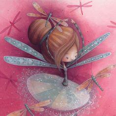 "Ketto (Julie St-Onge-Drouin), ""Dragonfly Ballerina"""