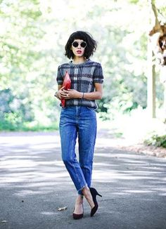 5 next-level plaid outfits to try this fall