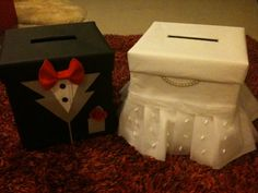 small sweet wedding reception   ... SWEET ** One pair of BRAND NEW ANG POW BOX for your wedding reception