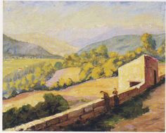 Valley in the south of France by Sir Winston Churchhill