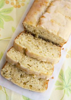 Lemon Zucchini Loaf - perfect for summer!