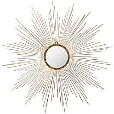 image of Safavieh Marinda Mirror in Gold