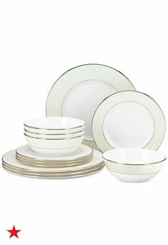 Lenox Opal Innocence Service for 4 (Created for Macy\u0027s) - Fine China - Macy\u0027s  sc 1 st  Pinterest & The 5 Most Popular Dinnerware Sets for Millennials | Dinnerware ...