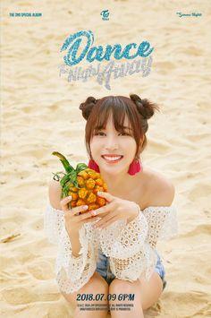 Twice Mina Summer Nights Kpop Girl Groups, Korean Girl Groups, Kpop Girls, Extended Play, Got7, Twice Photoshoot, Twice Album, Sana Momo, Jihyo Twice