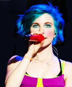 07. Hayley Williams. She can pull of any hair colour and any type of clothing you give her. She is my queen.