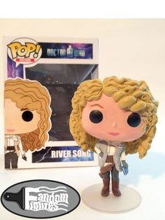 Doctor Who River Song custom Funko POP!
