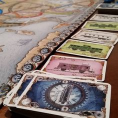 Getting started with #tickettoride. Anyone else feel like they sometimes ignore their older titles? #boardgames #tabletopgaming #boardgamegeek #bgg #tabletopgames #daysofwonder Follow us at http://ift.tt/1DW0xF2 #indietabletop #boardgames #tabletop #games