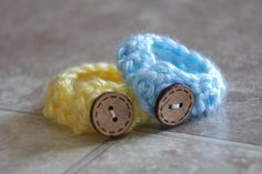 Twin Baby ID Bracelets- Blue & Yellow- Twin baby anklets by EverythingPrecious on Etsy