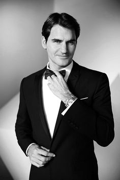 #RogerFederer for #Rolex -- #BowTie