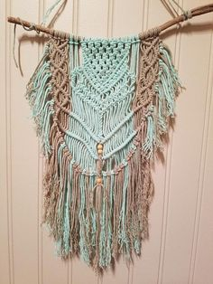 Hey, I found this really awesome Etsy listing at https://www.etsy.com/listing/576521358/macrame-wall-hanging