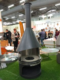 Found on the first day of spring at the AD Home Design Show, the HADES Fire turns our thoughts towards summer and outdoor cooking! #ADHDS2015