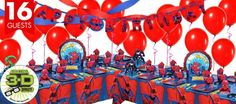 Spiderman Party Supplies - Spider-Man Birthday - Party City