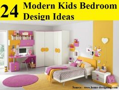 24 Modern Kids Bedroom Design Ideas...For more creative tips and ideas FOLLOW https://www.facebook.com/homeandlifetips
