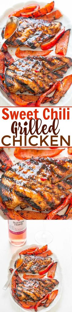 Sweet Chili Grilled Chicken