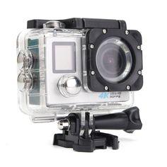 2.0 Inch LCD 16MP Ultra HD Dual Screen WiFi CAM Action DV Waterproof Sports Camera