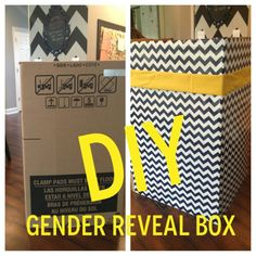 East Coast Creative: How to Make a Gender Reveal Box (that has style) and Plan an Epic Gender Reveal!
