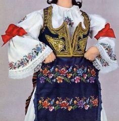 FolkCostume&Embroidery: Costume of central Serbia, or Šumadija, Шумадија