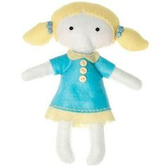 Get Crafty! Have lots of fun making this Emily doll! #dolly #craft #sew #sewing #make